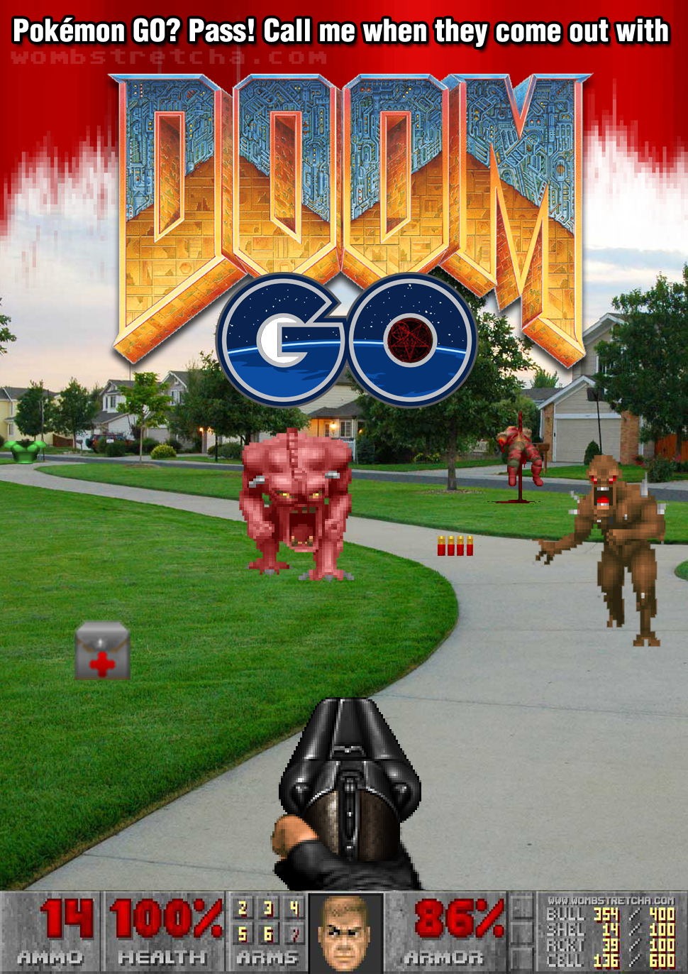 Pokémon Go? Hell no.